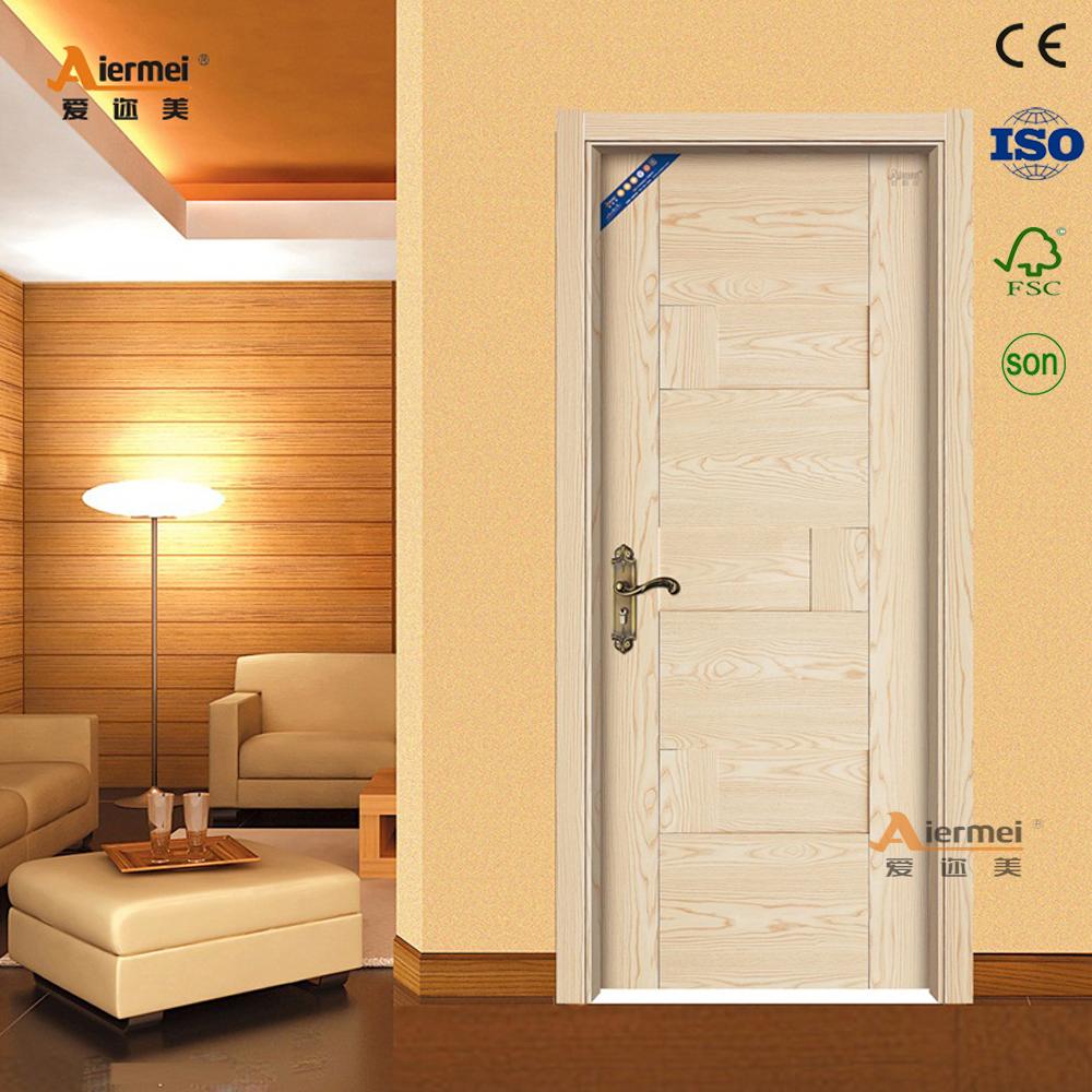 Europe Style Nice Bedroom Door Ecologyical Melamine Skin Interior
