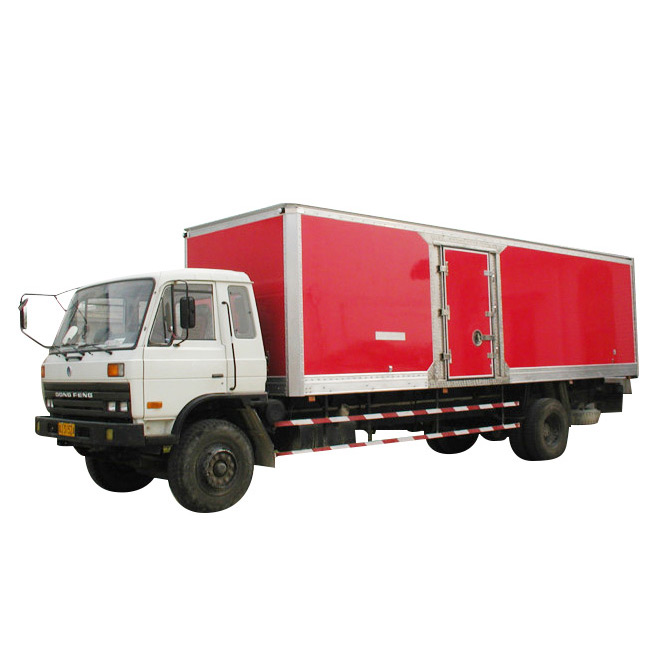 ISO9001 Certification Dry Freight Truck Body
