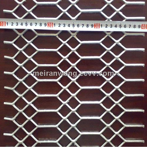 Galvanized Gothic Expanded Metal /SPHC plate gothic expanded metal mesh