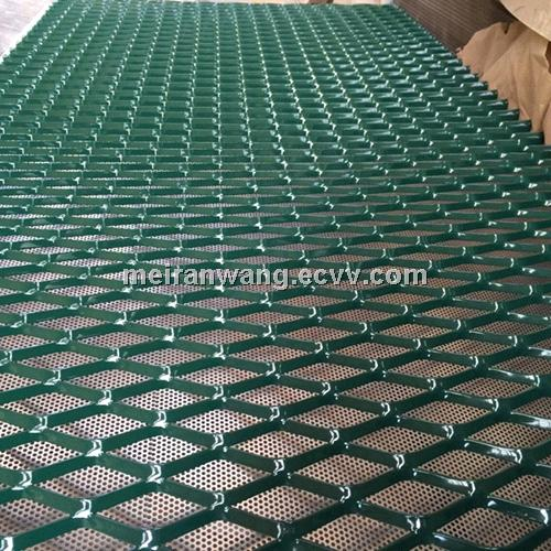 Pvc Coated Expanded Metal Powder Coated Expanded Metal