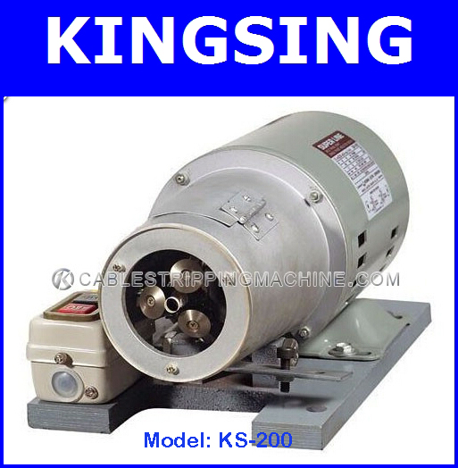 Wire Stripping And Twisting Machine KS-200