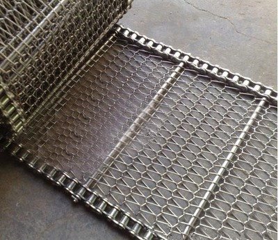 304 Stainless Steel Wire Mesh Conveyor Belt And Chain From