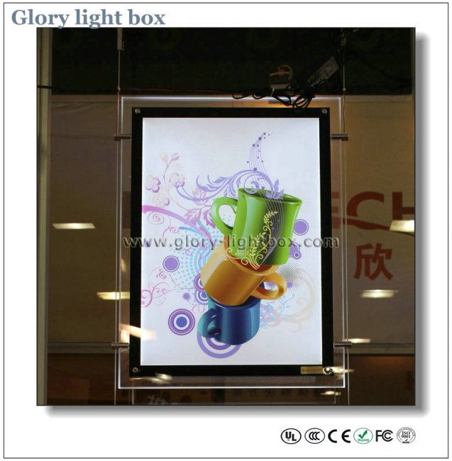 A2 Size Advertising Acrylic Magnetic Frame