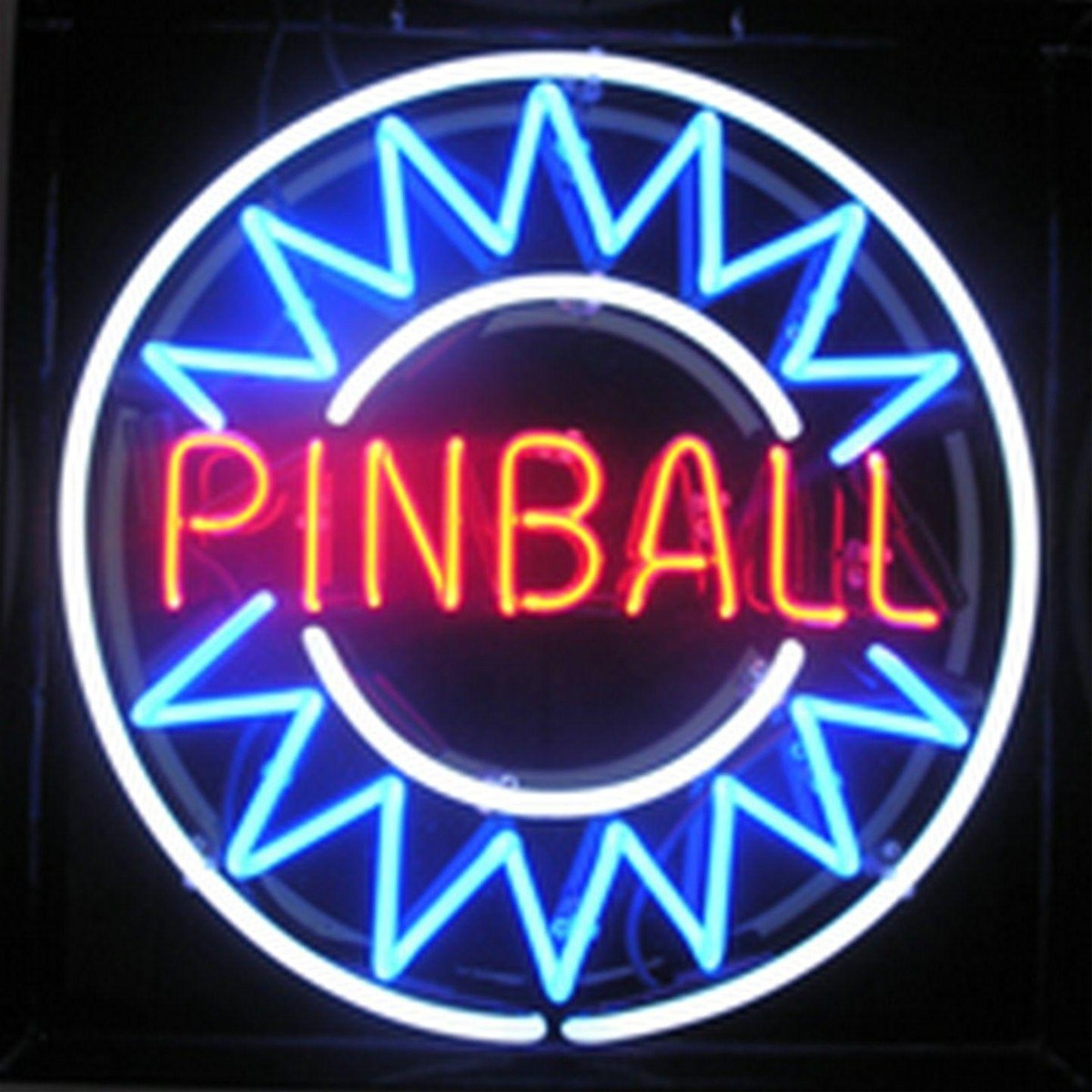 New MN6 PINBALL neon sign neon light advertising equipment for store display.