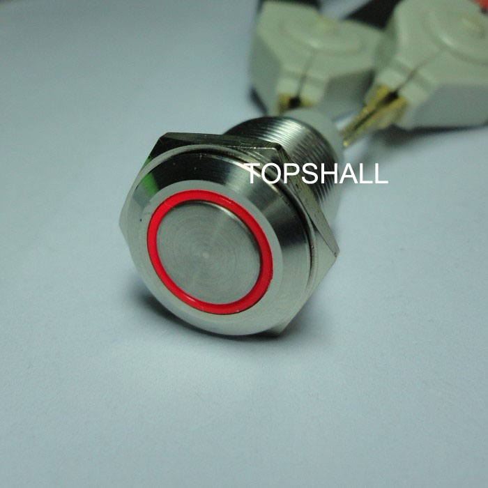 5feet,8feet,4feet,6feet,5pin,8pin,4pin,6pin vandal resistant metal push button switch