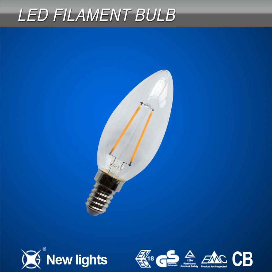 new style C35 Standard Led Filament lamp
