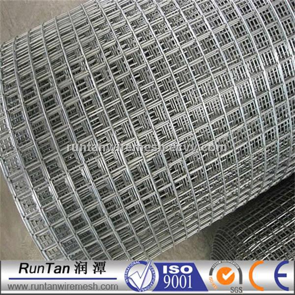 Hot dip galvanized steel fence inch pvc coated welded