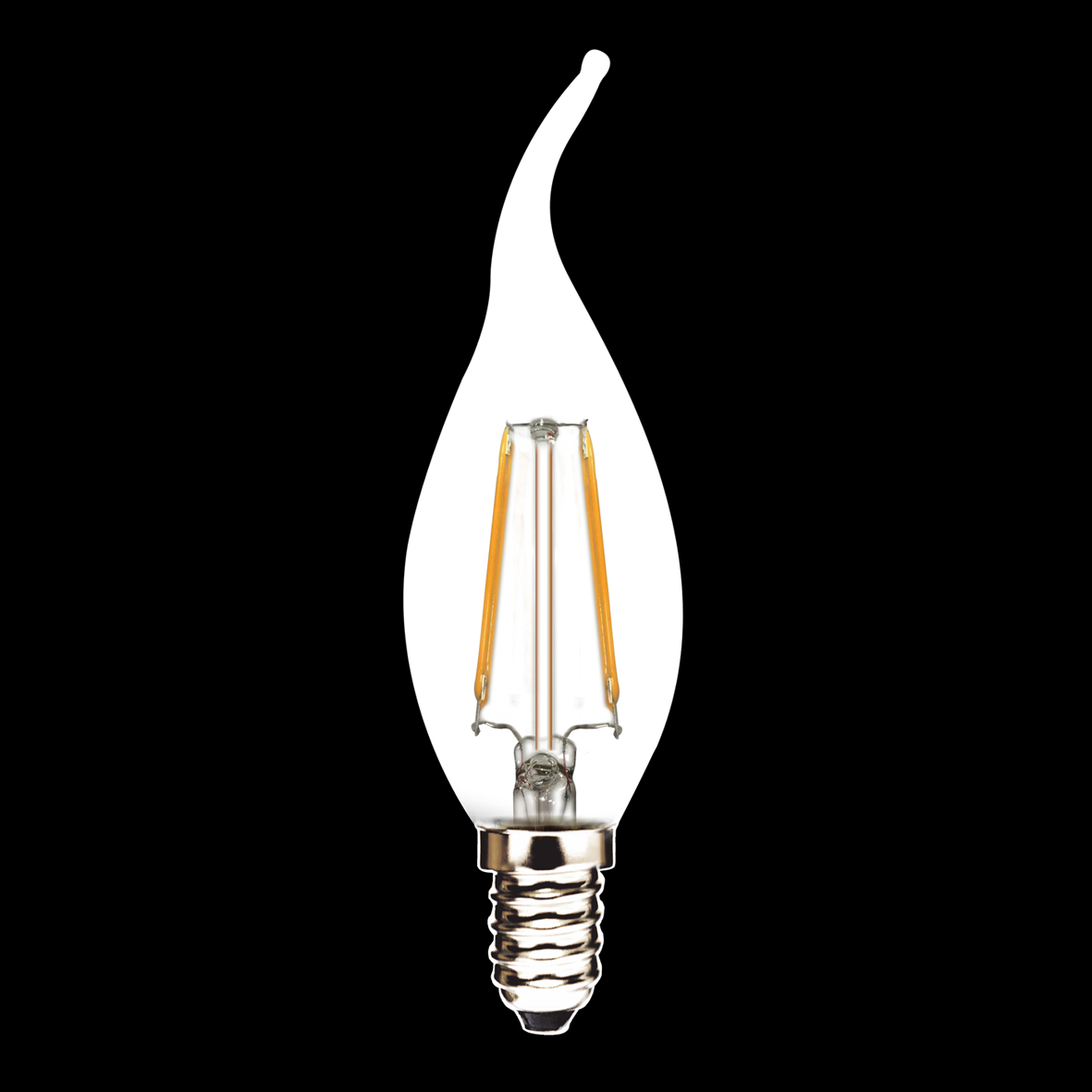 New products 360 degree C35T E14 LED Filament bulbs