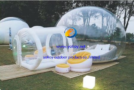 Clear Inflatable Bubble Lawn Dome