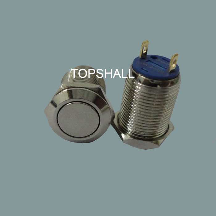 mini push button switch with 12mm mounting hole