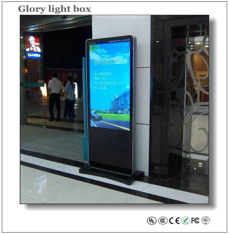 55 Inch Advertising Screen Panel With 3g Wifi Lcd Media
