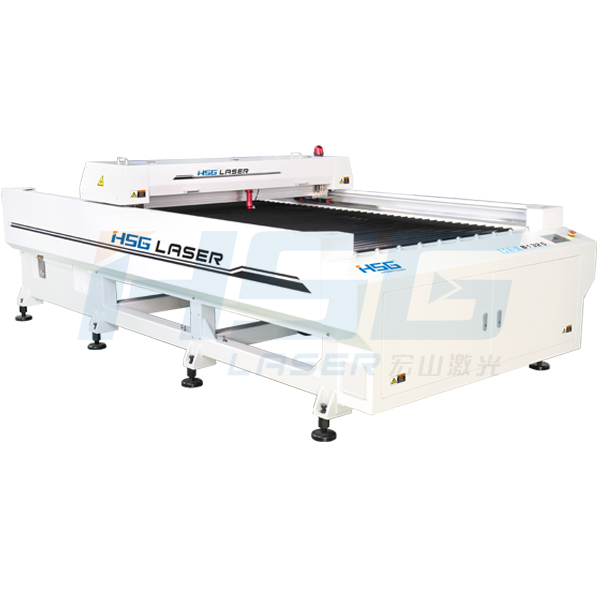 HS-B1325 acrylic laser cutting bed for advertising industry