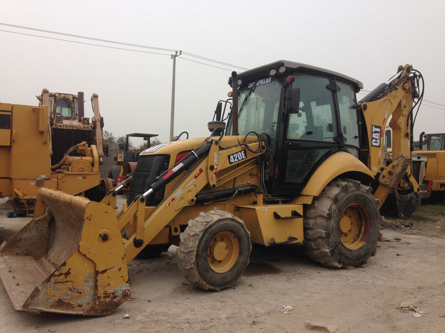 Used CAT 420E Backhoe Loader, used cat backhoe