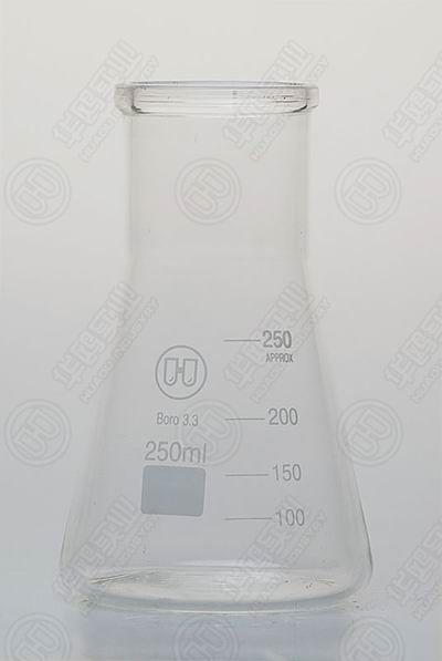 1120 Conical Glass Boiling Flask Loboratory Glasswares High Borosilicate Glass Conical Flask