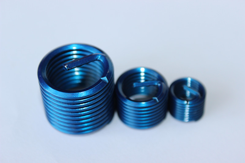 helicoil threaded inserts with internal thread and external thread