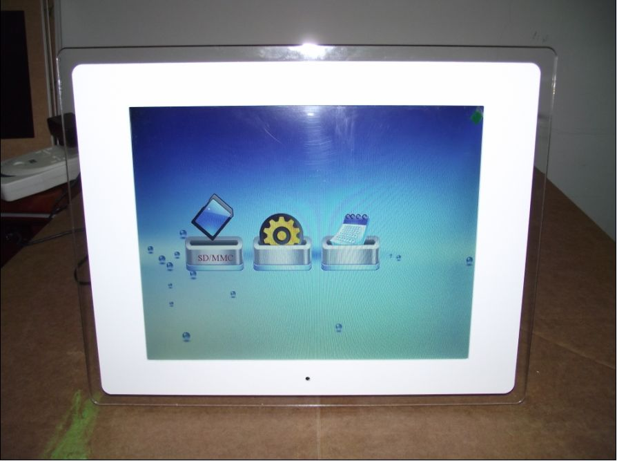 17 inch digital photo frame with led screen and auto play video music photo