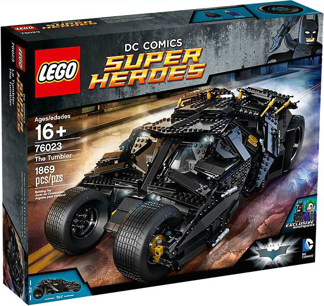 Lego 76023 Batman Tumbler Set