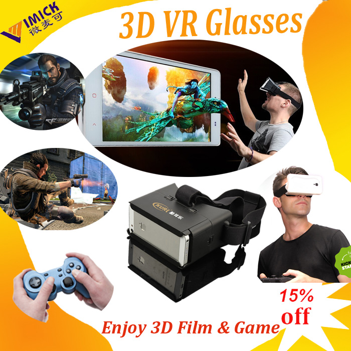 Hot Vr Headset 3D Gasses for 3.5-5.5 Inch Smartphone