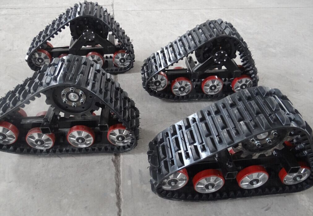 High quality 255 ruber tracks system for atv and light vehicle