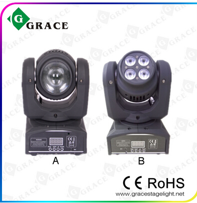 10w beam 40w wash led moving head light