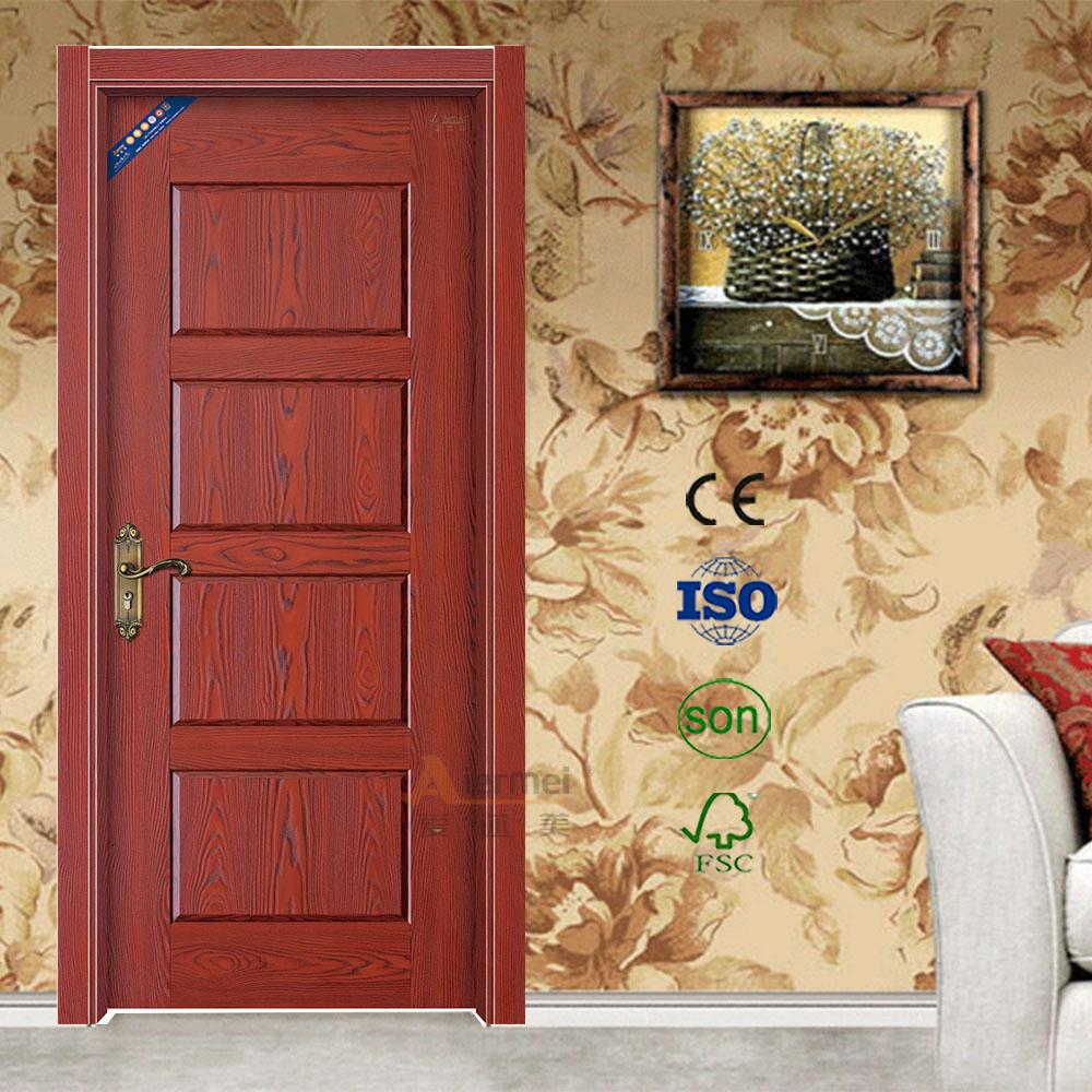 Latest Room Door Melamine Finish Mdf Splicing Soundproof Interior