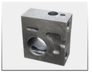 Casting Ductile Iron Machinery Parts Bracket (OEM)