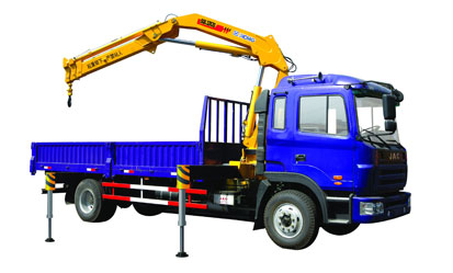 XCMG Mobile Commercial Knuckle Boom Truck Mounted Crane SQ6.3ZK3Q