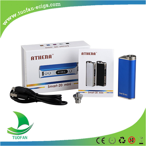 2015 New Vape Mod E-cig Mod ATHENA Smart-20 mini Electronic Cigarette with  CE & ROHS