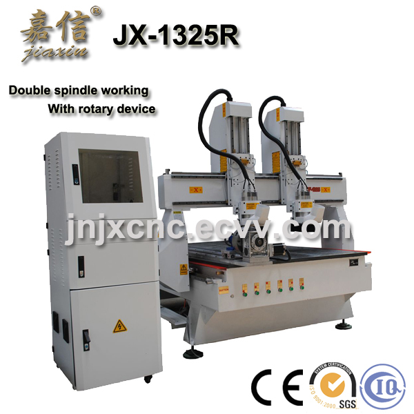 JX-1325R  JIAXIN Double head 4 axis wood processing machine