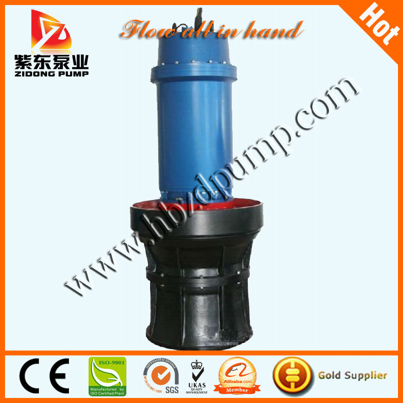 Large Flow Rate Submersible Axial Flow Pump Water Pump