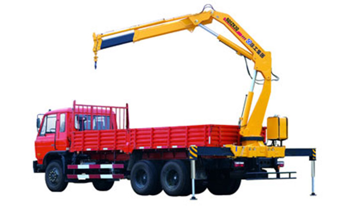 Construction Knuckle Boom Truck Mounted Crane, 5 Ton Truck Loader Crane SQ5ZK2