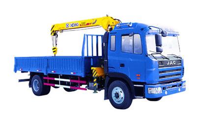 Durable Hydraulic Lifting Telescopic Boom Truck Mounted Crane, 4T  Lorry-Mounted Crane SQ4SK3Q