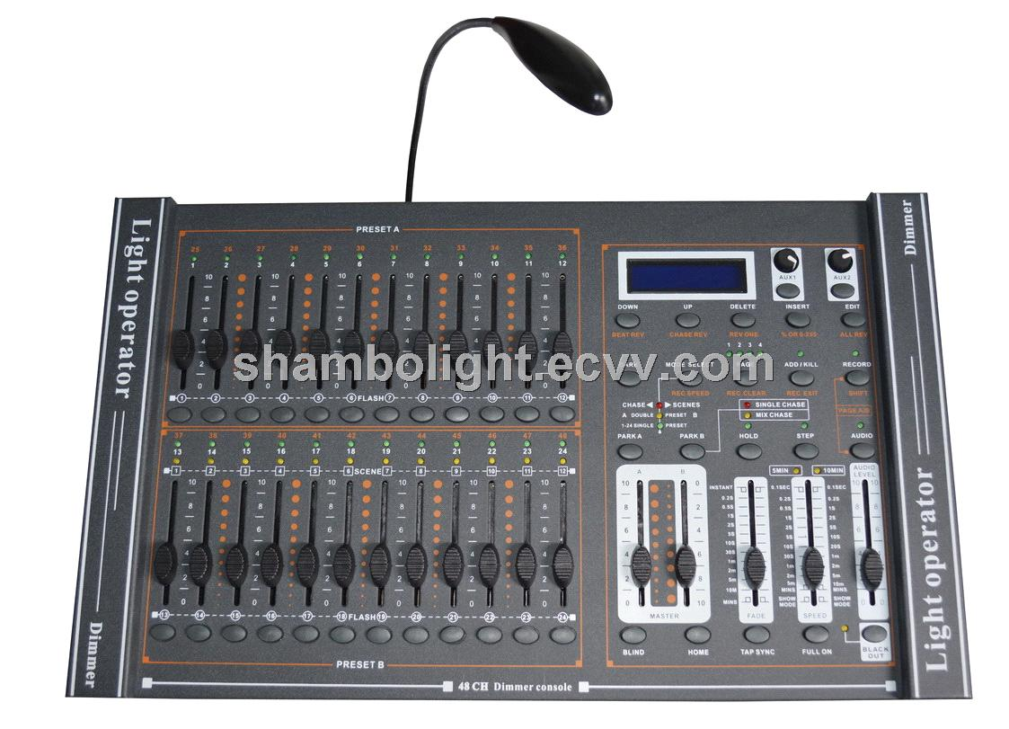 48CH Dimmer console,Dimmer controller,stage light controller,DMX