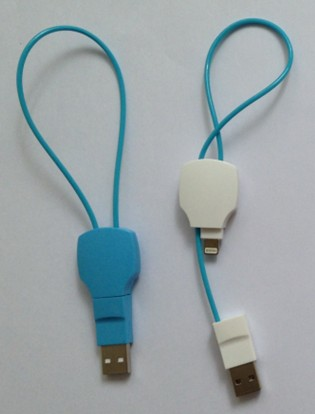 Archaized Key Shape Charging Data Sync Cable, USB To Lightning