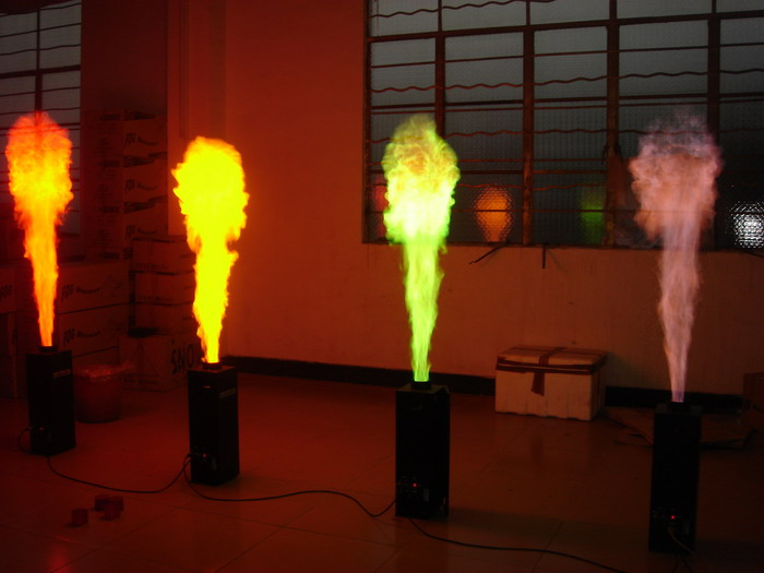 Dmx Flame Projector For Sage Special Effects Spray Fire