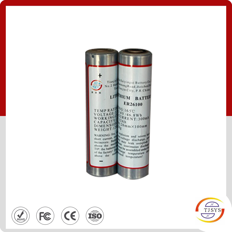 High temperature lithium battery  CC size ER26100