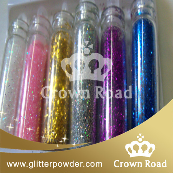 1/64 colorful water bottle glitter shaker for DIY from China