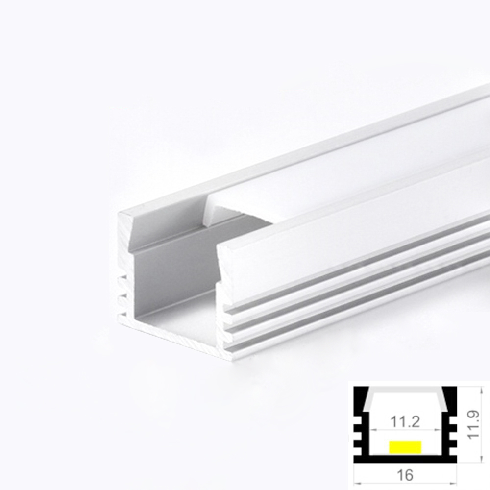 LED Aluminum Profile Cabinet Strip Light with Diffuser from China