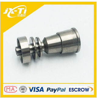 domeless Gr2 male female titanium smoking nail in smoking pipe parts