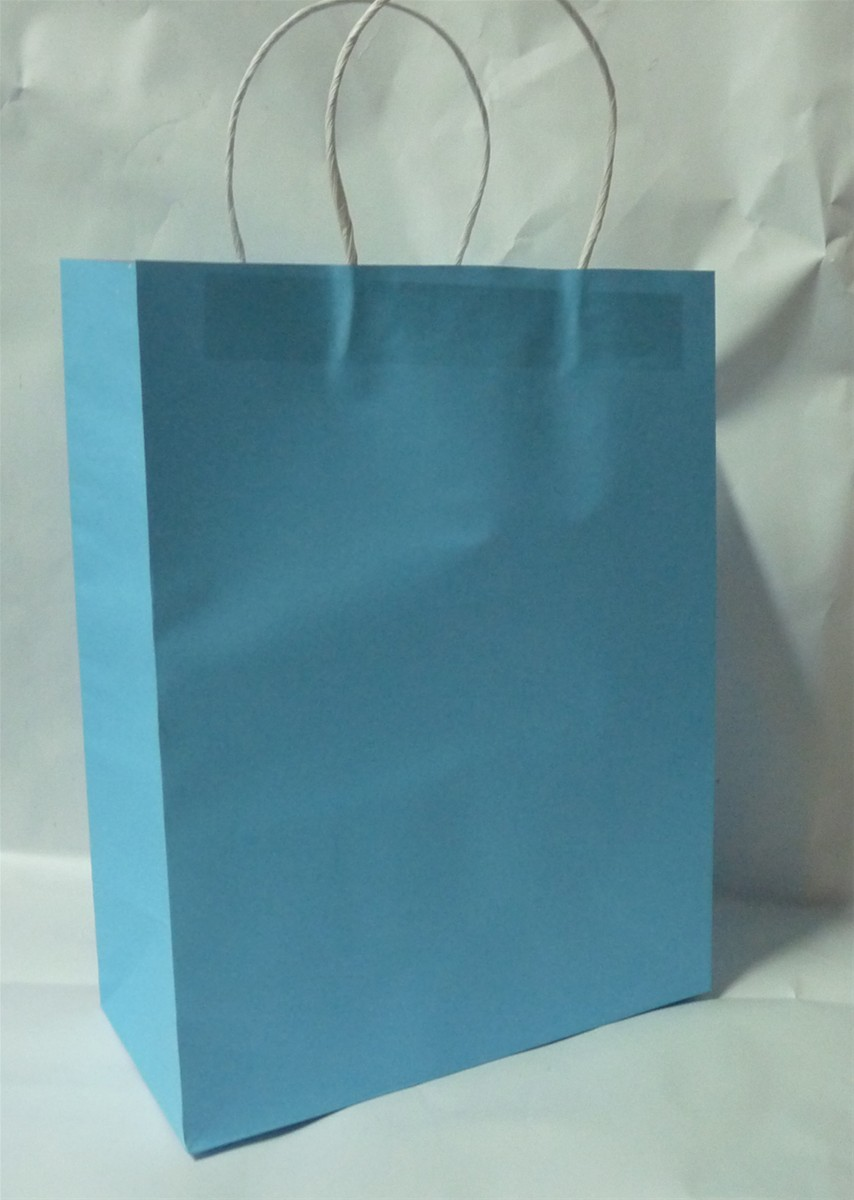 white kraft paper bag-large