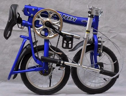 Folding bicycle folding bike with 14 inches wheels