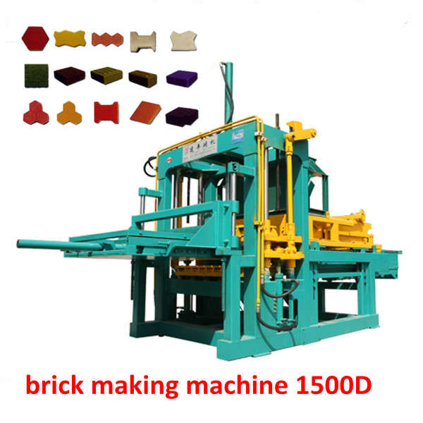 Brick Production Line Processing and Hydraulic Pressure Method Block Making Machinery manufacturer