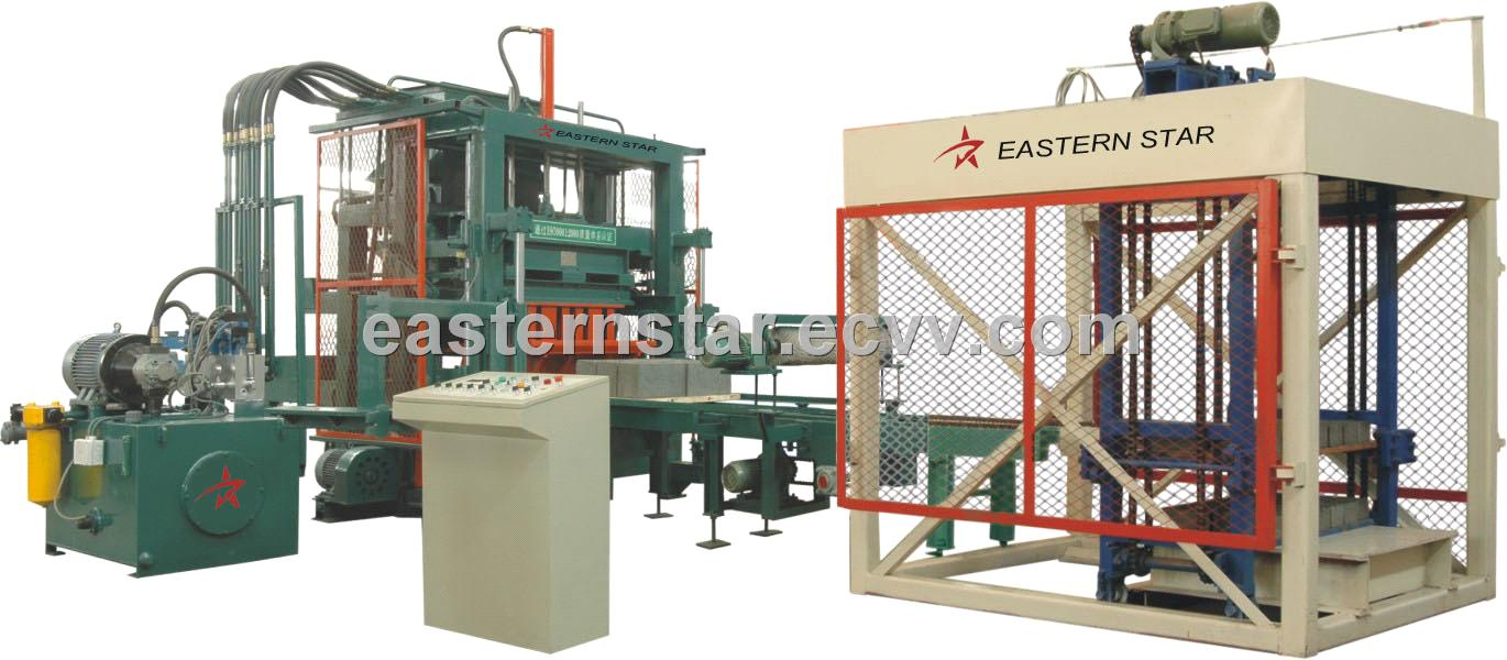 QFT4 concrete paver block making machine have office in Dhaka/with overseas servic