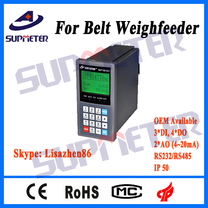 Weighing Controller, Belt Feeder with Continous Feeding Control