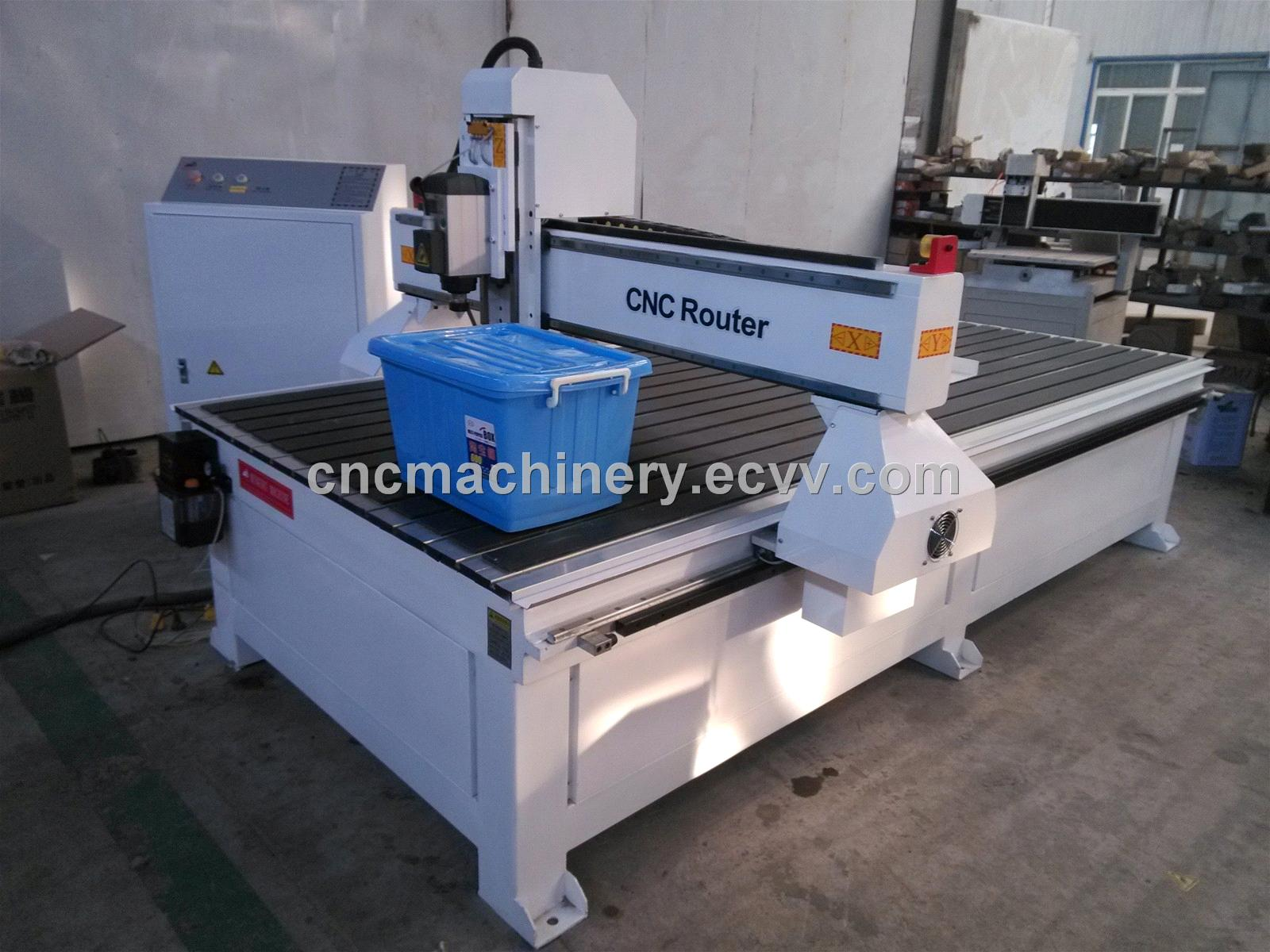 wood carving and cutting cnc router 3kw italy hsd spindle