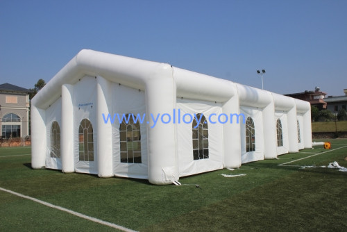 White Inflatable Wedding Party Tent for Outdoor Evening