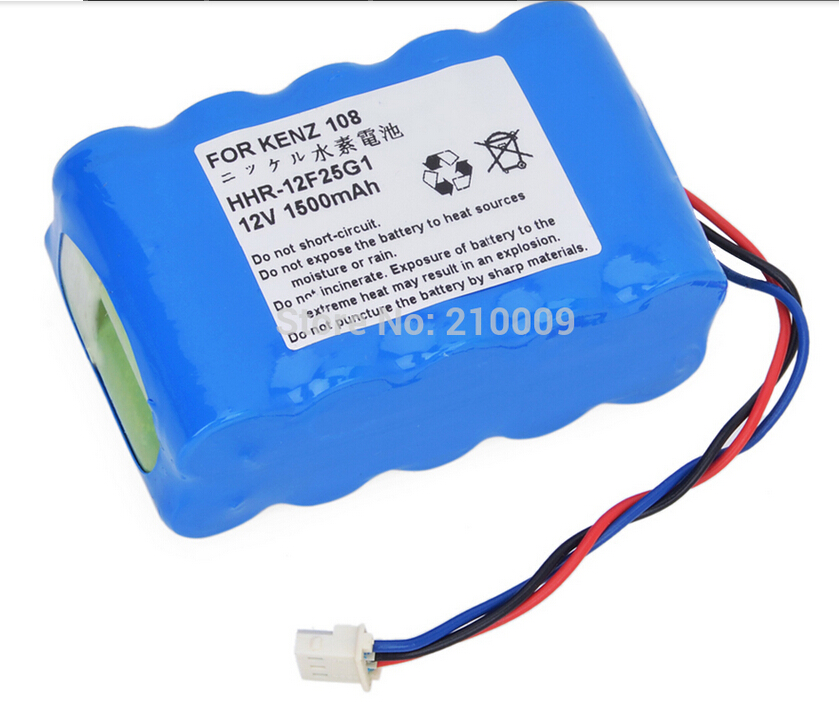 Medical Battery Pack Replacement for HHR-12F25G1,ECG 108,ECG-108,ECG Medical battery
