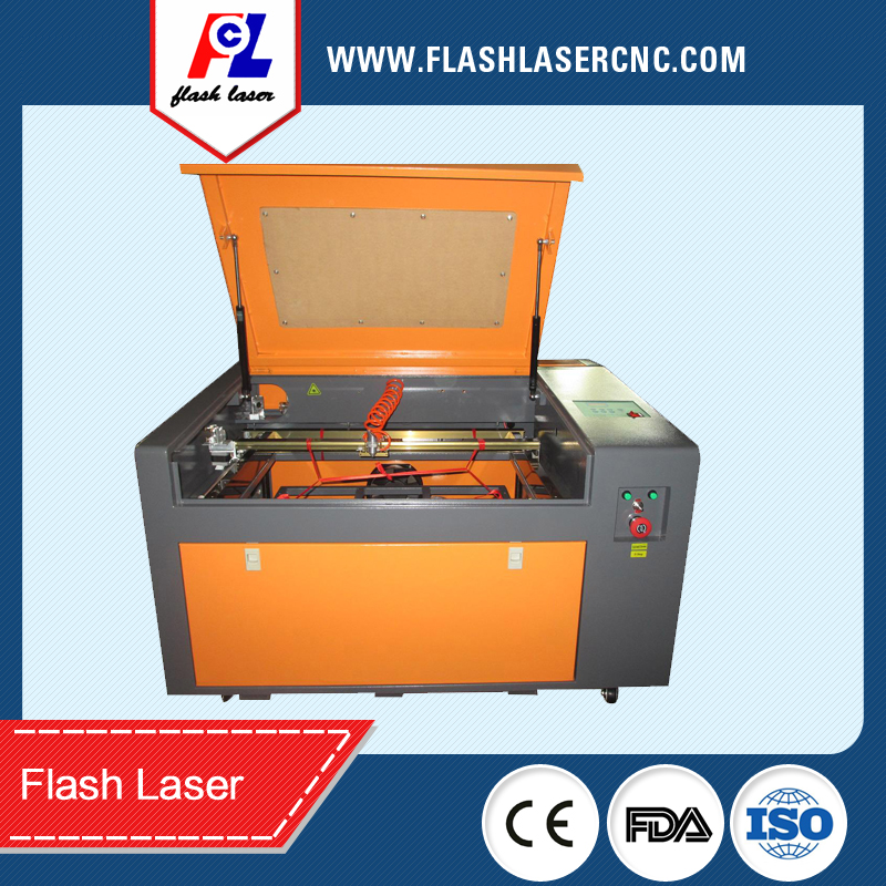 Ecnomic Co2 Mini Desktop Laser Cutting Machine  CO2-60W with up and Down Shifting Table