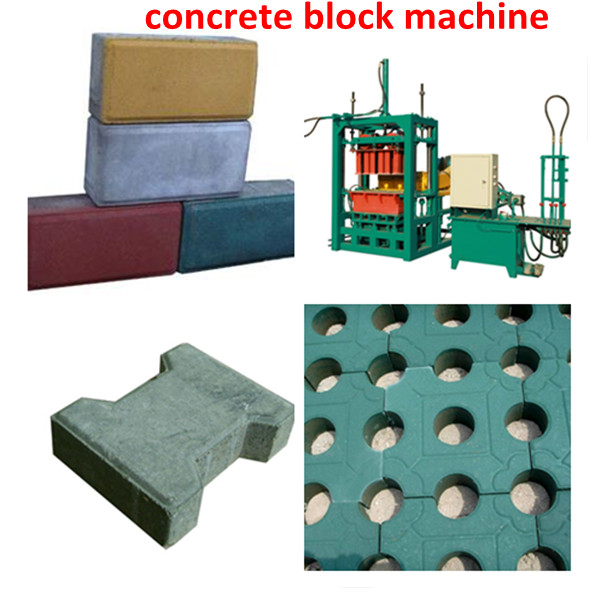 Small cement brick production line machine with ISO9001