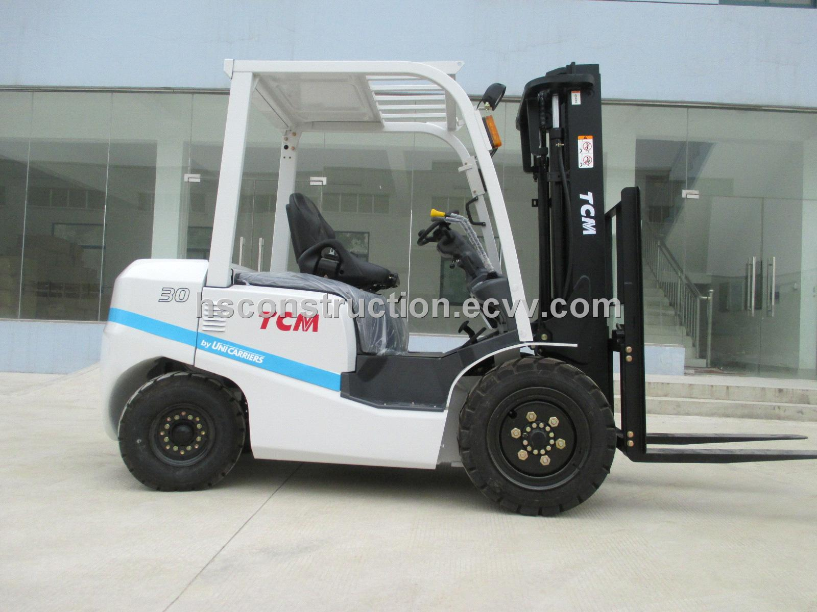 Used original Japan TCM 3t forklift in shanghai